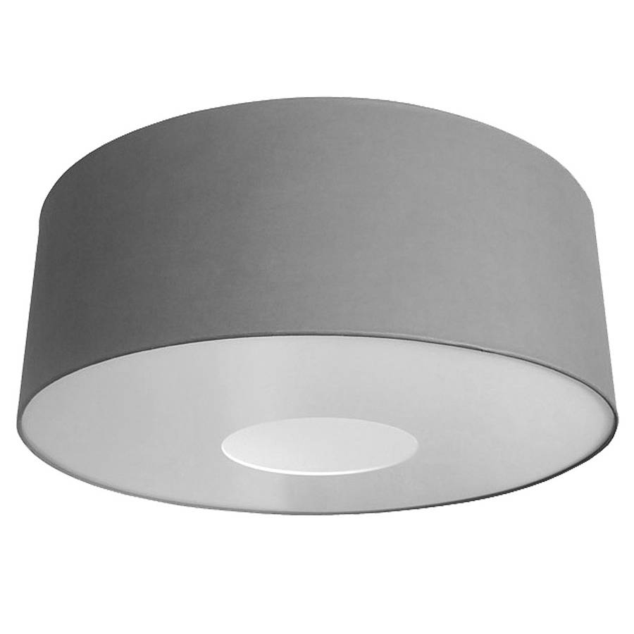 Oversize large ceiling pendant shade classic colours by quirk grey aloadofball Image collections