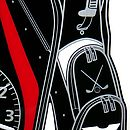 Close Up Image of Golf Bag