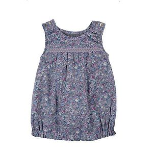Eia Floral Cotton Dress - children's clothing