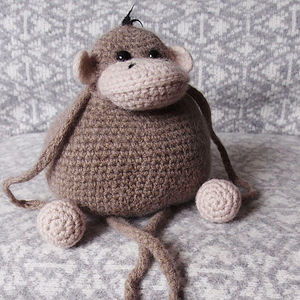 Monkey Learn To Crochet Kit - toys & games
