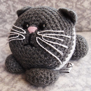Kitten Learn To Crochet Kit - sewing & knitting