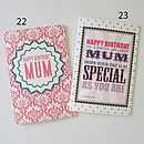 Birthday Mum Greeting Cards