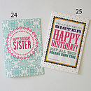 Birthday Sister Greeting Cards