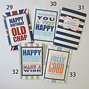 Male Birthday Greetings Cards