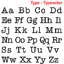 Type - Typewriter