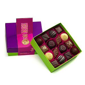 Indian Inspired Chocolate Box - chocolates