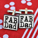 'Awesome Dad' Cufflinks