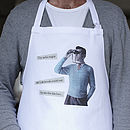 Personalised Men's Retro Apron