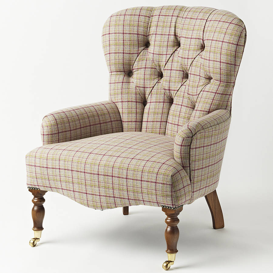 netherfield upholstered armchair by hello pearl