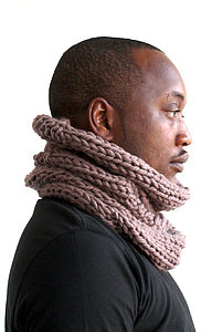 Merino Wool Snood: Light - hats, scarves & gloves