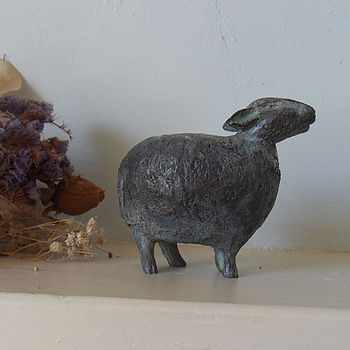 Deborah Scaldwell Standing Sheep Sculpture