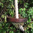 Personalised Round Rope Swing