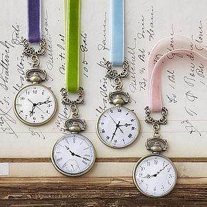 Pocket Watch Bookmark - inspired by culture