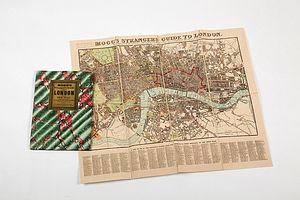 Vintage Style London Strangers Map