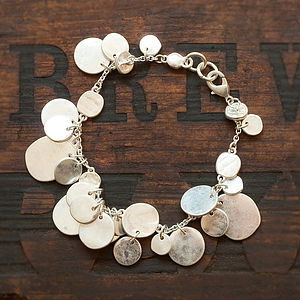 Luisa Coin Bracelet In Gold Or Silver