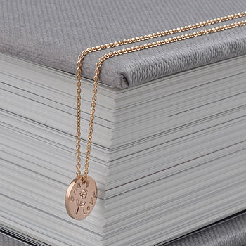 Mini Gold One Love Necklace
