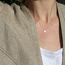 Necklace as worn