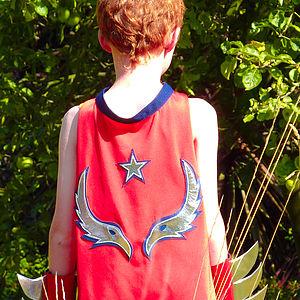 Superhero Cape Where Eagles Dare