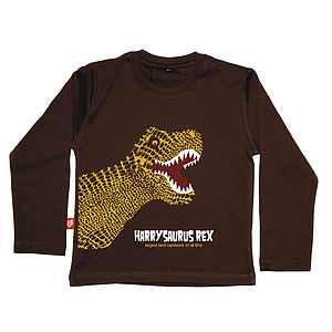Personalised T-Rex T Shirt - children's clothing