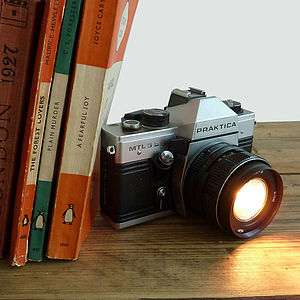 Vintage Praktica Camera Light