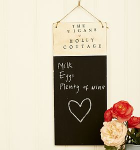 Personalised Chalkboard - noticeboards