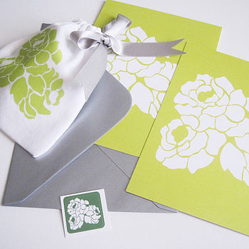 Gift Pouch And Writing Set