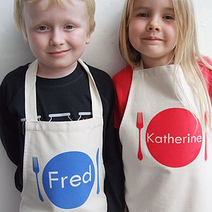 Personalised Children's Apron - children's cooking