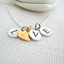 'Love' Charm Necklace