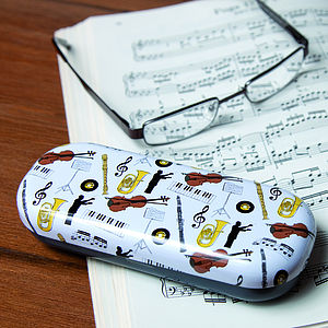 Music Glasses Case - gifts for grandparents