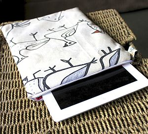 Bird Print Case For IPad