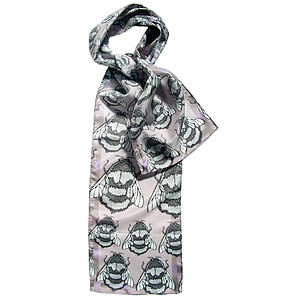 Conspiracy Of Bees Long Silk Scarf