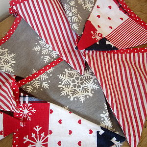Christmas Scandinavian Style Bunting - decorative accessories