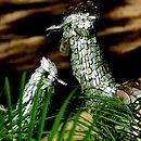 Lifesize Hen Or Cockerel Garden Sculpture