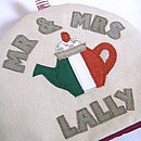 personalised irish tea cosy