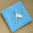 boys christening picture gift wrapped
