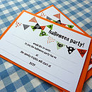 Halloween Party Invitations - Set Of 10