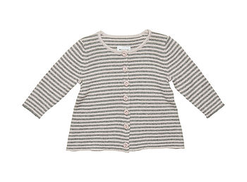 Striped Baby Benitte Cardigan