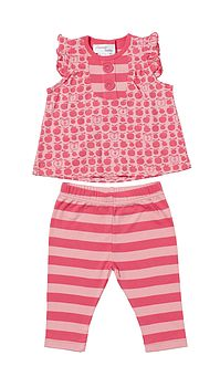Babies Tia Top And Leggings Set