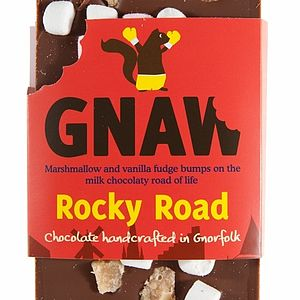Rocky Road Chocolate Bar - food & drink gifts