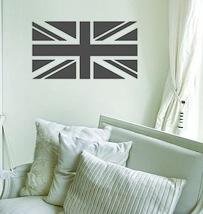 Union Jack wall sticker - wall stickers