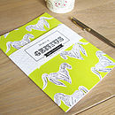 'Strokes Of Genius' Notebook