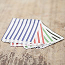 Coloured Striped Candy Bags