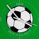 Inalid Football Detail at Centre of Clock