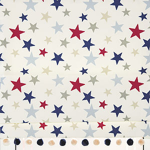 Stars Roman Blind - soft furnishings