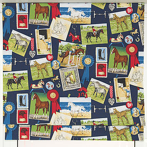 Horses Roman Blind - soft furnishings