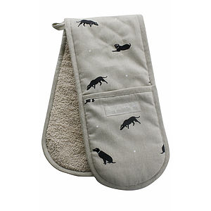 Labrador Double Oven Glove - kitchen