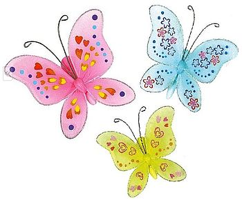 Decorate Your Own Butterfly Craft Kit