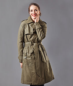 30% Off Padded Trench Coat