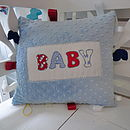 Personalised Taggie Cushion