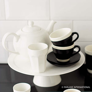White Porcelain Cake Stand - baking